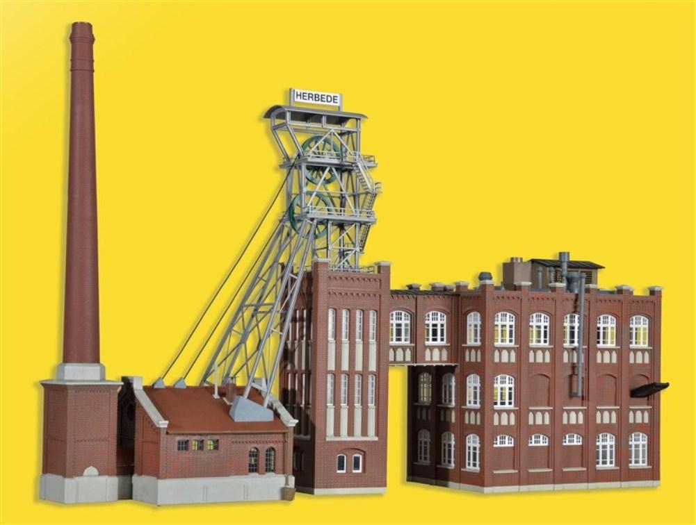 Kesselhaus und Kohlew SH Kibri 39846 Zeche Herbede Funktionsbausatz.Förderturm