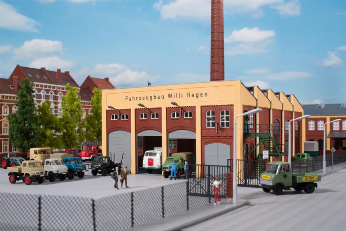 Auhagen 12228 H0// TT alte Maschinenfabrik NEU /& OvP