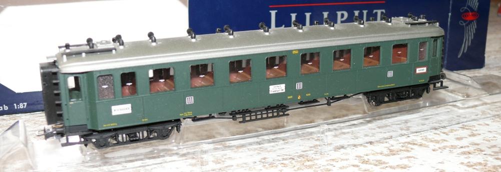 he liliput l384710 schnellzugwagen 3 klasse 14015 baden ebay. Black Bedroom Furniture Sets. Home Design Ideas