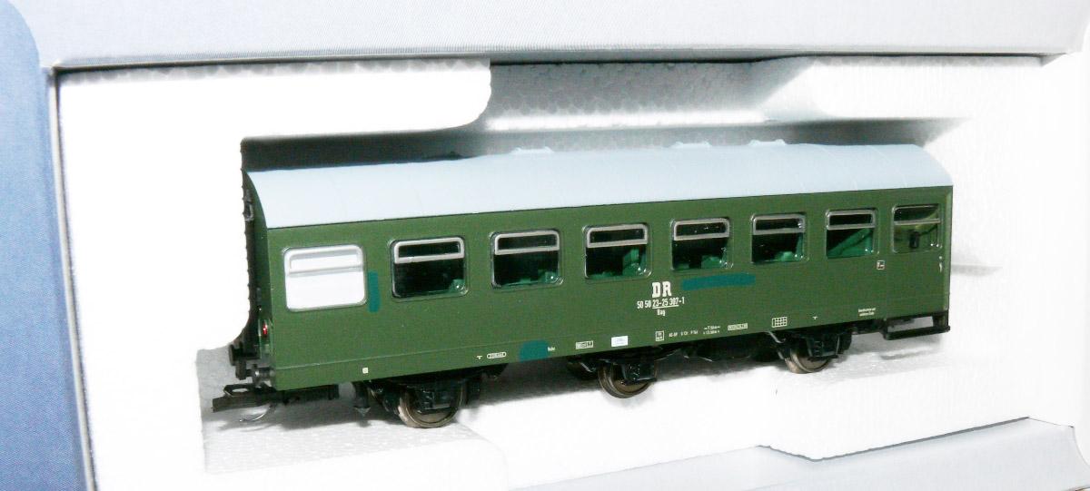 Klasse  BDm 273  mit Gepäckabteil Ep IV     TT HS Tillig 16210 Reisezugwagen  2