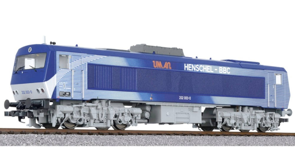 HS Liliput L132054 •  Diesellokomotive  Henschel-BBC DE 2500  D//c