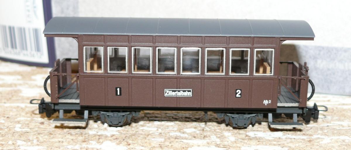 Klasse Bi13  der  Zillertalbahn HOe SH Liliput 344362 Personenwagen 2