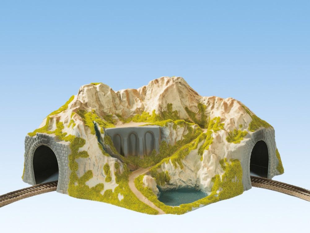 H0 Tunnel  1gleisig Fertigmodell Gerade NOCH 02200