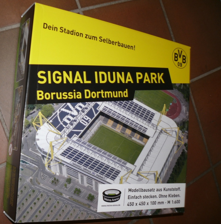 hs s dgipfel 1003 bausatz bvb station meine arena signal iduna park ebay. Black Bedroom Furniture Sets. Home Design Ideas
