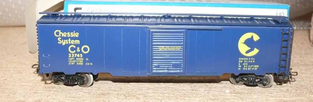 n2 m rklin 4564 2 us box car chessie system katze kurze beine ebay. Black Bedroom Furniture Sets. Home Design Ideas